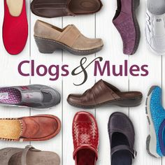 What's not to love about clogs & mules?