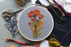 by Walker Boyes Orange Pattern, Embroidery Kits, Artsy Fartsy, Physics, Coin Purse, Pdf, Wallet, Purses, Handbags
