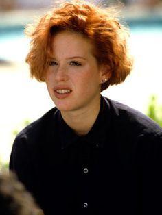 80's women's short hair - Molly Ringwald