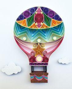 Quilled Paper Art: I Believe I Can Fly by SenaRuna on Etsy