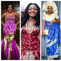 Nigerian Wedding Igbo Brides Traditional Styles Flawless Makeovers