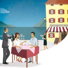 Look Around   Garda Lake by Federica Bordoni, via Behance