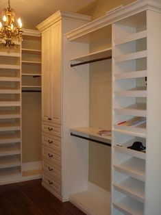 Closet Organizer Systems Closet Traditional with Adjustable Shelving Built In1