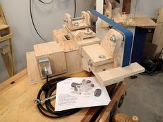 homemade machine belt grinder plans available Belt Grinder Plans, Homemade Machine, Diy Online, Drafting Desk, Woodworking, How To Plan, Projects, Knives, Rest