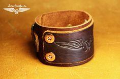FREE gift LEATHER BRACELET handmade accessory unisex by SteampunkMasks (19.00 USD) http://ift.tt/21g4ukD
