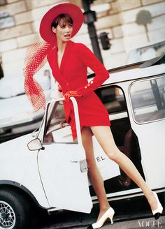 porelpiano: MINI + Christy Turlington