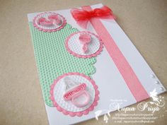 quilled baby card - nupur creatives: Paper Quilling