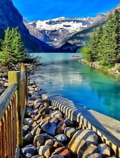 Lake Louise in Alberta Canada