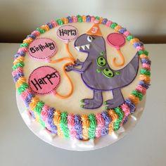 T Rex cake by Kristy Dax