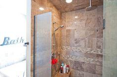 Beautiful Shower Custom Builders, Custom Homes, Alcove, Bathrooms, Commercial, Bathtub, Shower, Beautiful, Standing Bath
