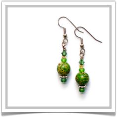"One-of-a-Kind ""Annabelle"" Earrings - Designed by Belle Bijou:  http://www.bellebijoujewelry.com/store/detail/index.html#cid=48433"