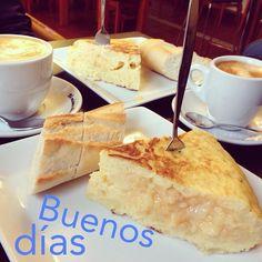 Good Morning!  #ideassoneventos #blog #bloglovin #organizacióndeventos #comunicación #protocolo #imagenpersonal #bienestarybelleza #decoración #inspiración #bodas #buenosdías #goodmorning #sábado #saturday #happy #happyday #felizdía #weekend #desayuno #breakfast #ricorico #ñamñam #cafés #pinchodetortilla #instafood #buenosmomentos #buenacompañía #placeresdefindesemana