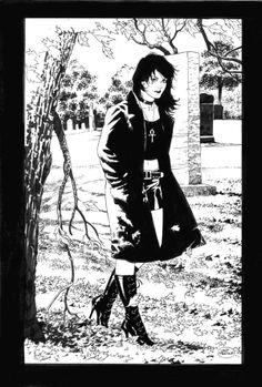 Death / Sandman - Rosana Raven ☥~ by Lan Medina