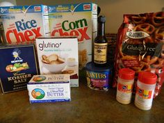 Baking with Love: Crockpot Chex Mix#more