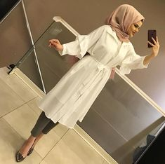 Dress Outfits For Church Style Modest Fashion Hijab, Hijab Chic, Modest Outfits, Dress Outfits, Fashion Outfits, Fashion Mode, Islamic Fashion, Muslim Fashion, Hijab Style Tutorial