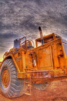 Bulldozer by beforethecoffee, via Flickr