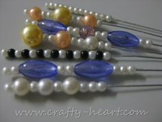 How to Make Hat Pins Using Wire