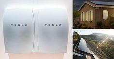La empresa Tesla Motors lanzó una batería que funciona 100% a base de energía solar y podrá ser utilizada en hogares. Esto permitirá la independencia por completo de las redes eléctricas.