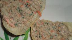 Receita de patê de sardinha com cenoura