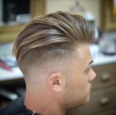 Thin, fine hair is often seen as limp and unable to hold any particular style. But it is actually versatile and can be made to look most any way a pers… Classic Mens Hairstyles, Classic Haircut, Undercut Hairstyles, Short Hairstyles For Women, Haircuts For Men, Cool Hairstyles, Short Hair Cuts, Short Hair Styles, Try Different Hairstyles