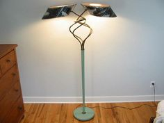 Rare floor lamp  -  Majestic lamps