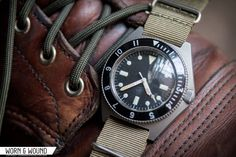 Worn&Wound: BENRUS TYPE I AND TYPE II MIL-W-50717 MILITARY DIVE WATCHES