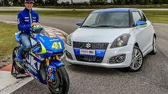 Suzuki GSX-RR and Swift Sport / Aleix Espargaro