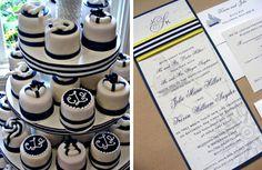 mini nautical cakes