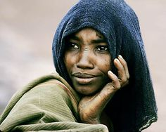 "Ethiopian Danakil Woman  Public Anthropology's ""Faces of the World"" Series  Photo by Victor Englebert"