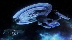 Stardate - U. Dallas, floating derelict just outside a region of space classified as the Brecha Rift. Those who played Elite Force II will. Trek Deck, Star Trek Posters, Starfleet Ships, Star Trek Images, Star Trek Starships, Starship Enterprise, Daily Star, Star Trek Ships, Star Trek Universe