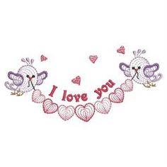 Rippled Sweet Tweets 08(Lg) machine embroidery designs