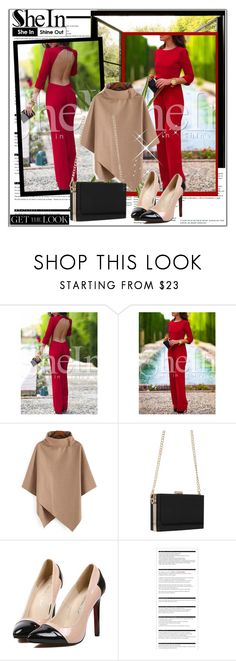 """""""SheIN 3"""" by selmina ❤ liked on Polyvore featuring Arche, OKA, Sheinside and shein"""