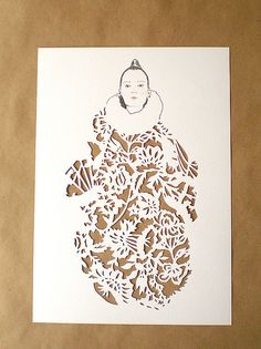 Winter fashion by woodland papercuts, via Flickr