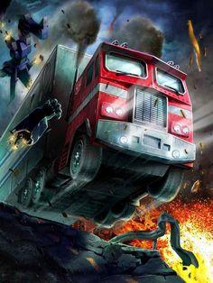 Autobots Leader Optimus Prime Artwork From Transformers Legends Game Transformers Generation 1, Transformers Decepticons, Transformers Optimus Prime, Gi Joe, Best Cartoon Series, Macross Valkyrie, Cartoon Clip, Vw Touran, Geek Culture