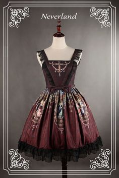The Madonna Cross JSK Style 2 [TMCS2] - $86.99 : Soufflesong,An Indie Lolita Fashion ,Gothic Vintage Brand
