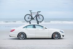 Simply Clean 5 - Mercedes-Benz CLS63 on CVT - Displaying our Vossen x Statebicycleco Bikes