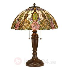 Paradisisk bordslampa Eden i Tiffanystil 6064039