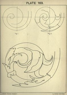 1895 - Cusack's freehand ornament. A text book with chapters on elements…