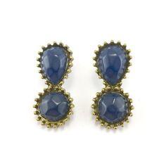 Gold Tone Earrings (5277)