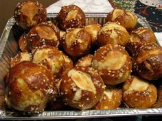 Super Soft Pretzel Rolls- Easy Too!. Photo by Chef #1800992525