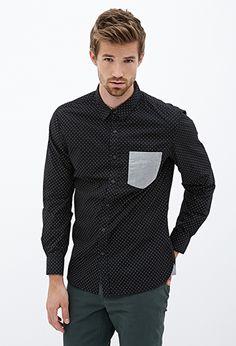 Dot Print Shirt
