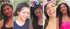 Check out Bethany motas 5 easy no heat summer hairstyles, on youtube her name is macbarbie07. Shes great if you have not watched her yet