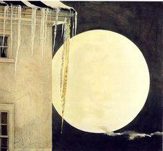 Andrew Wyeth - Moon Madness, 1982