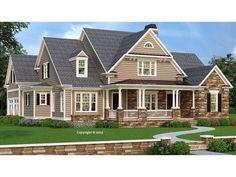 086H-0088: 4-Bedroom Luxury House Plan with Bonus Room
