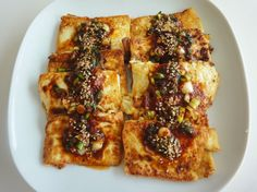 2 tofu dishes