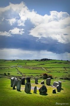 #Vacation in Historic Ireland Drombeg Stone Circle; #County #Cork, #Ireland #travel