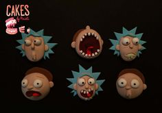 Check out this item in my Etsy shop https://www.etsy.com/listing/468929565/rick-and-morty-inspired-cupcake-toppers
