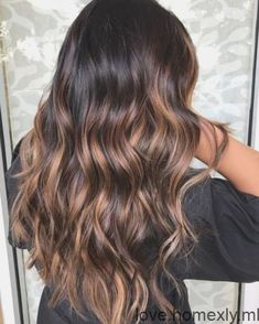 20 Best Hair Colors for 2020 - Blonde Hair Color Trends - Latest Hair Colors - 20 Hair Colors for Brunettes Going Gray, Hardly any ladies are brought into the world blonde, and e - Brown Ombre Hair, Brown Hair With Highlights, Light Brown Hair, Hair Color For Black Hair, Cool Hair Color, Dark Hair, Hair Colors, Dark Brown, Blonde Hair