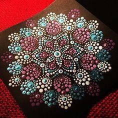 Blue & purple #dotmandala #mandala #art