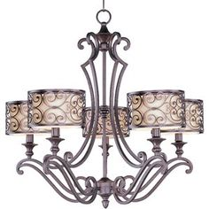 Lewisville 5-Light Drum Chandelier